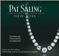 Exhibitor: Pat Saling Ltd  |  Specialty: Fine estate and precious jewelry