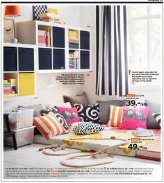 From IKEA catalogue 2014 - Love this corner for children