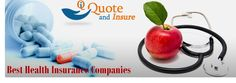 Health insurance may be very expensive yet it is also very important for it deals with you and your family's health. Several private health insurance companies that provide attractive insurance options to its citizens. Choose best company to buy health insurance. Private Health Insurance, Health Insurance Companies, Good Company, Health And Wellness, Health Fitness