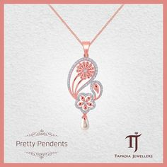 Celebrate the season of love on a grand scale! Go all out and profess your love with beautiful jewellery from the House of Tapadia Jewellers. Gold Diamond Rings, Diamond Bracelets, Diamond Pendant, Diamond Jewelry, Pendant Design, Pendant Set, Pendant Necklace, Jewellery Sketches, Trendy Jewelry