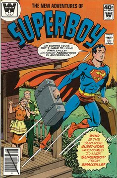 The New Adventures of Superboy 006 by micky the pixel, via Flickr