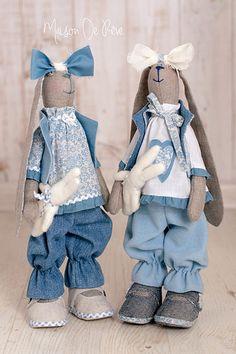 T. Conne rabbit - bunny handmade