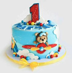 15 Ideas Birthday Cupcakes For Boys 2020 Toddler Birthday Cakes, Baby Boy Birthday Cake, Boys 1st Birthday Cake, Baby Boy Cakes, Baby Shower Cupcakes For Boy, Cupcakes For Boys, Fondant Cakes, Cupcake Cakes, Cake Designs For Kids