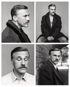 Christoph Waltz is the epitome of handsome