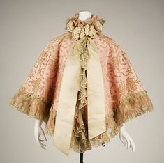 Opera cape (image 1) | British | 1898 | silk | Metropolitan Museum of Art | Accession #: C.I.40.88.4