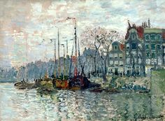 Claude Monet..Amsterdam