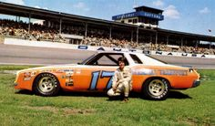 Darrell Waltrip at the beginning of his racing career. Description from pinterest.com. I searched for this on bing.com/images
