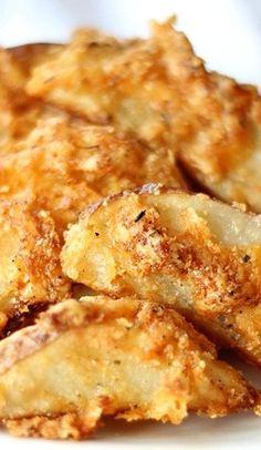 Crispy Cheddar Baked Fries