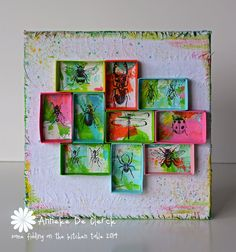 Some fiddling on the kitchen table: New Art Journey Stamps #3