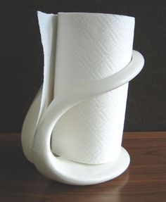 Zorb Ceramic Paper Towel Holder