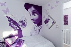 More wall art good for a girls bedroom.