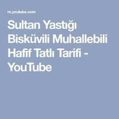 Sultan Yastığı Bisküvili Muhallebili Hafif Tatlı Tarifi - YouTube