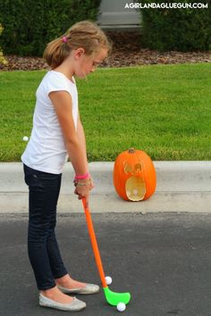 Pumpkin Golf Games for Halloween! | Eighteen25