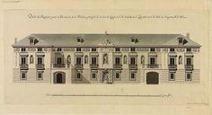 Fachada principal de la Casa del Labrador (Isidro Velázquez) (Iberia) by peacay, via Flickr