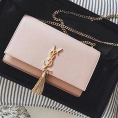 35588e77a0bf Saint Laurent YSL Classic Baby Monogram Matelasse Leather Chain Bag 399289  5653