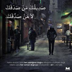 """Muarrib Arapça Eğitim-Yayın on Instagram: """"Hakiki dostun, sana her yaptığının doğru olduğunu söyleyen değil, bilakis sana her zaman doğruyu söyleyendir.   Ali b. Ebi Talib (r.a)…"""" Turkish Language, Arabic Language, Arabic Lessons, Beautiful Arabic Words, Arabic Quotes, Istanbul, Islam, Poetry, Instagram"""