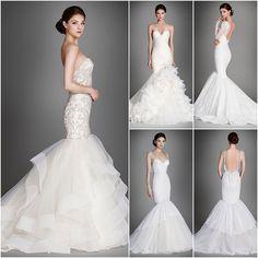 Lazaro Wedding Dresses 2015 Collection Part II - MODwedding