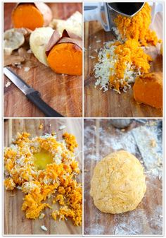 """great detailed recipe for sweet potato gnocchi from """"the italian dish"""""""