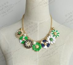 Exquisite luxury new enamel enamel flower by cute6908shop on Etsy