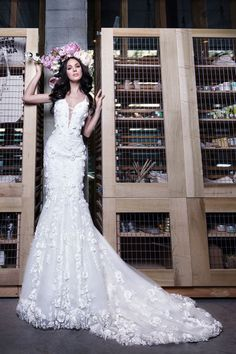 8cd5cc26062 8 Delightful Assorted Dresses From NY Bridal Fashion Week images ...
