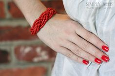 DIY braided bead bracelet with inspiration from ECAB