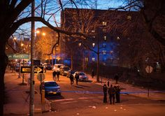 March 19, 2016 EDWIN J. TORRES FOR THE NEW YORK TIMES St. Mary's Street in the South Bronx, where Freddy Collazo, 20, was killed on Feb. 22. The case remains unsolved.