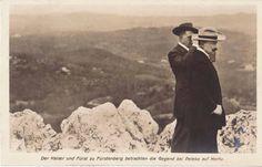 Kaiser Wilhelm in Pelekas 1909.