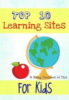 Top Ten Educational Websites for Kids