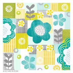 Summertime Blues - Julie Hamilton Designs {artistically afflicted blog}