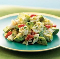 Phase 1 Lunch Recipes Crab and Avocado Salad