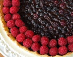 Blueberry Raspberry Tart Recipe