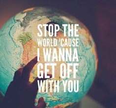 Stop the World I wanna Get Off with You - Arctic Monkeys ✨