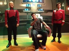 I'd like to fly on this ship please with Patrick Stewart, Nathan Fillion & William Shatner! #Firefly #StarTrek