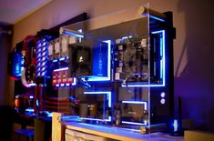 Wall-mounted PC - Blue Theme
