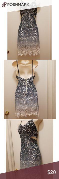 1c200e7e9284 Ombre crochet cutout dress Cute cut out dress by  fashionnova worn once.  Original price  33. Size medium. True to size Fashion Nova Dresses Mini