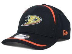 Anaheim Ducks New Era NHL Lined Over Flex 39THIRTY Cap Hats