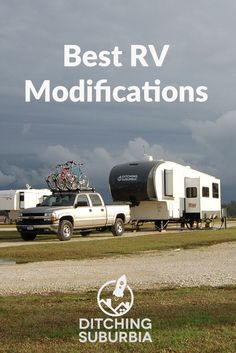 The master list of all of the modifications we've made to our RV for fulltime living: