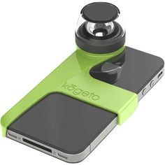 Kogeto Dot 360-Degree Panoramic Video Accessory for iPhone 4 – Green