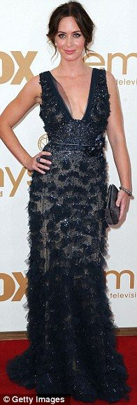 Emily Blunt in Elie Saab at the 2011 Emmys