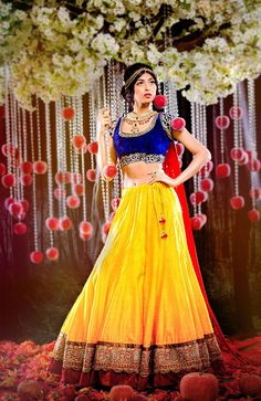 These 9 gorgeous bridal gowns were created to prove that Disney princesses can be assimilated into Indian culture and inspire their ornate bridal wear.