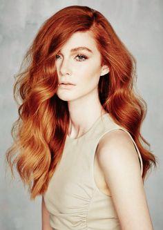 rude włosy, fryzury rude, jaka ruda farba, marchewkowe włosy, miedziane
