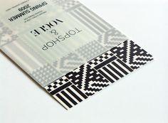 Topshop & Vogue invite by Shaz Madani Graphic Design Print, Graphic Design Typography, Graphic Design Illustration, Graphic Design Inspiration, Print Layout, Layout Design, Stationery Design, Brochure Design, Publication Design