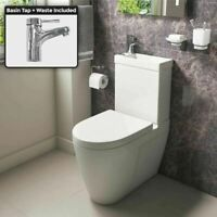 Toilet And Basin Unit, Toilet Sink, Sink Toilet Combo, Space Saving Toilet, Small Kitchen Sink, Small Bathroom Inspiration, Close Coupled Toilets, Back To Wall Toilets