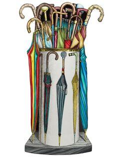 Fornasetti umbrella stand. this is so beautiful I love it xxbelladonnaxx