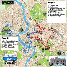 How to see Rome in a hurry, our Two day sightseeing whirlwind!