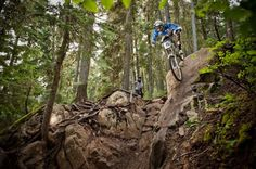 Whistler Bike Park (near Squamish, BC) might be the motherlode of freeride in North America, with a huge amount of downhill terrain for riders of all levels.