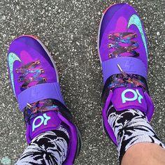 "Nike KD 7 ""Cave Purple"" | Laced Up Laces www.laceduplaces.com"