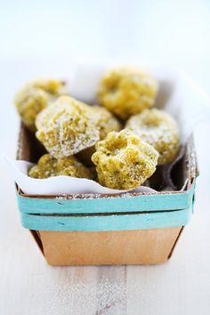 Lemon, Pistachio and Millet Cakes :: Cannelle et VanilleCannelle et Vanille