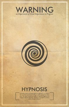Fringe Science Posters: Hypnosis