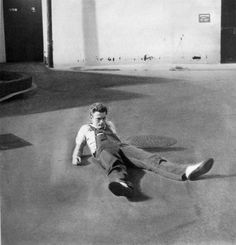 James Dean just laying there